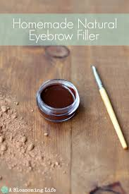 homemade natural eyebrow filler a