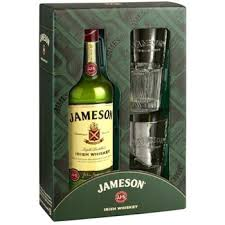 send jameson irish whiskey gift set to