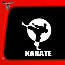 Empireying 8 Colors Sanda Kung Fu Martial Arts Kicks Karate Sport Funny Car Sticker Camper Van Rv Truck Styling Vinyl Decal Gift Car Stickers Aliexpress