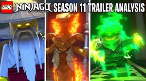 LEGO Ninjago Season 11 Official Trailer FULL Analysis! *WU is EVIL ...