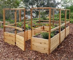 Deer Proof Cedar Complete Raised Garden Bed Kit 8 X 12 Eartheasy Com