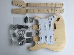 diy electric guitar kit double neck 6