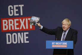 UK's Boris Johnson has one thing on his mind: Brexit now