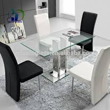 glass dining table design 6mm