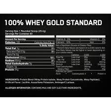 optimum whey gold standard 2 27 kg