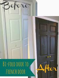 change bi fold doors to french doors
