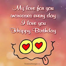 romantic birthday wisheessages