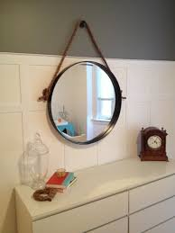 diy iron rope mirror front life