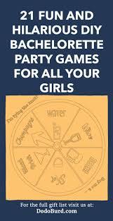 hilarious diy bachelorette party games
