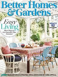 better homes gardens usa june 2019
