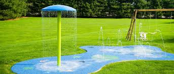 what is a splash pad spray park or