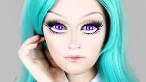 best anime makeup for you wink