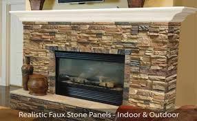 faux stone panels brick veneer