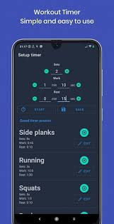 workout timer is a free android app