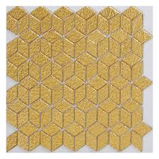 diamond shape mosaic wall tiles