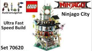 Ultra Fast Speed Build Lego Ninjago Movie 70620 Ninjago City - YouTube