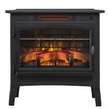 twin star infrared quartz fireplace