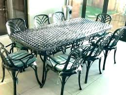 lawn furniture wrought patio chair cast