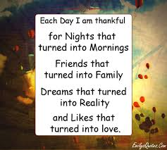 each day i am thankful for nights that turned into mornings