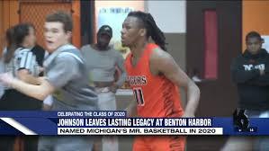 Carlos Johnson leaves behind incredible legacy at Benton Harbor