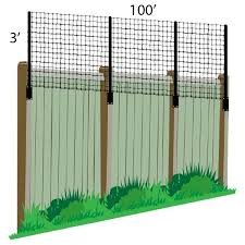 3 X 100 Poly Extension Kit For Existing Fence Wood Pvc Metal Deerfence