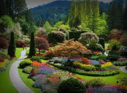 butchart gardens british columbia canada
