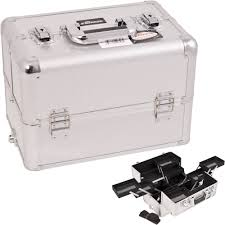 large silver makeup box saubhaya makeup
