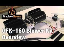 gfk 160 fireplace blower fan kit