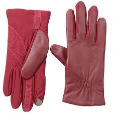 isotoner smartphone gloves for women