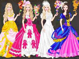 wedding barbie dress up fashion dresses