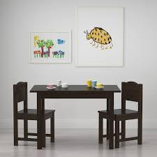 Sundvik Children S Chair Black Brown Ikea