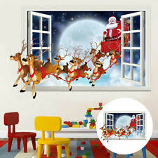 3d Fake Window Wall Stickers Removable Faux Windows Wall Decal Landscape W2n4 For Sale Online Ebay