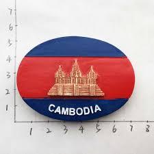 Babelemi Cambodia Fridge Magnets Tourist Souvenirs Angkor Wat Refrigerator Magnetic Sticker Home Decor Fridge Magnets Aliexpress