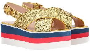 gucci multicolor classic gold glitter