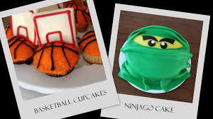 Basketballs and Ninjago - Pint Sized Baker