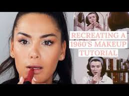 1960s makeup tutorial beauty