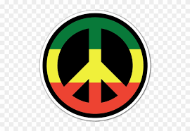 Car Motorbike Stickers Rasta Peace And Love Free Transparent Png Clipart Images Download