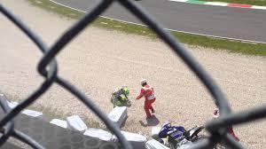 Rossi Bautista crash mugello 2013 - YouTube