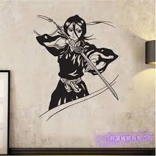 Kuchiki Rukia Bleach Wall Decal Vinyl Wall Stickers Decal Decor Home Decorative Decoration Anime Bleach Car Sticker Buy At The Price Of 9 90 In Aliexpress Com Imall Com
