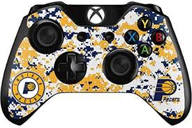 Skinit Indiana Pacers Digi Camo Xbox One S Controller Skin Ultra Thin Officially Licensed Nba Gaming Decal Lightweight Vinyl Decal Protection Fan Shop Video Games Accessories