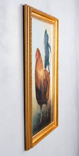 Watercolor of a Rooster by Myrna Anderson, Late 20th Century at ...