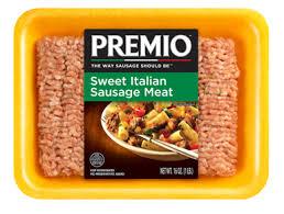 sweet italian sausage meat premio