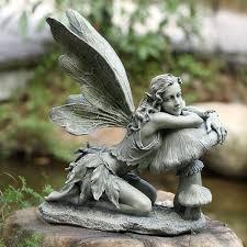 stunningly beautiful statues of fairies