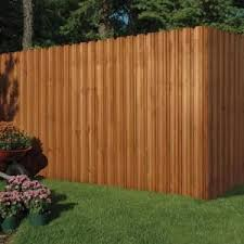 Outdoor Essentials 4 In X 4 In X 9 Ft Pressure Treated Cedar Tone Moulded Fence Post 162524 The Home Depot Diy Backyard Fence Outdoor Essentials Privacy Fence Panels
