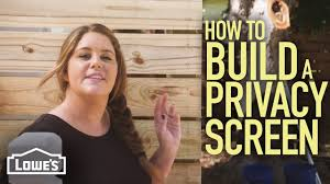 How To Build A Privacy Screen W Monica From The Weekender Youtube