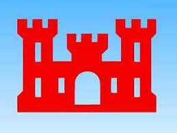 Corps Of Engineers Castle Vinyl Window Sticker Decal Ebay