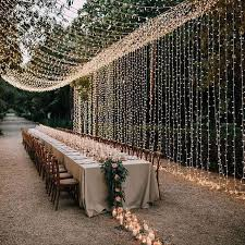 15 Gorgeous Ideas For Using String Lights Throughout Your Wedding