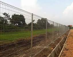 Hot Dipped Galvanized Brc Bending Top Fence Heavy Gauge Rigid Welded Wire Mesh Fence Panels Brc Welded Mesh Brc Welded Mesh