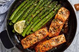 Garlic Butter Salmon Recipe with Lemon ...