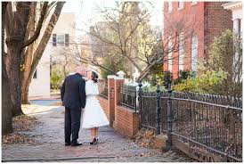 downtown frederick md elopement shoot